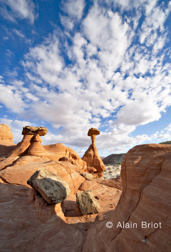 Hoodoos Clouds