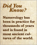 Numerology facts