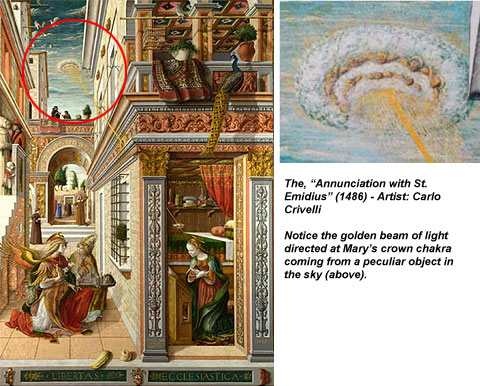UFOs in Religious Art