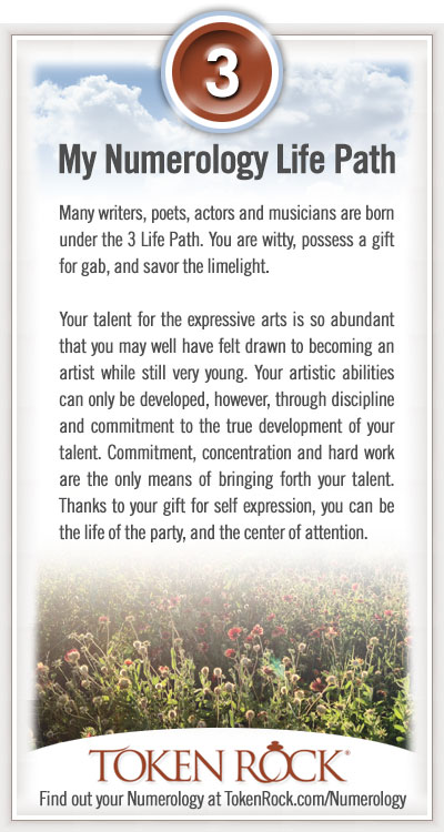 Life Path Number 3 In Numerology Meaning 1