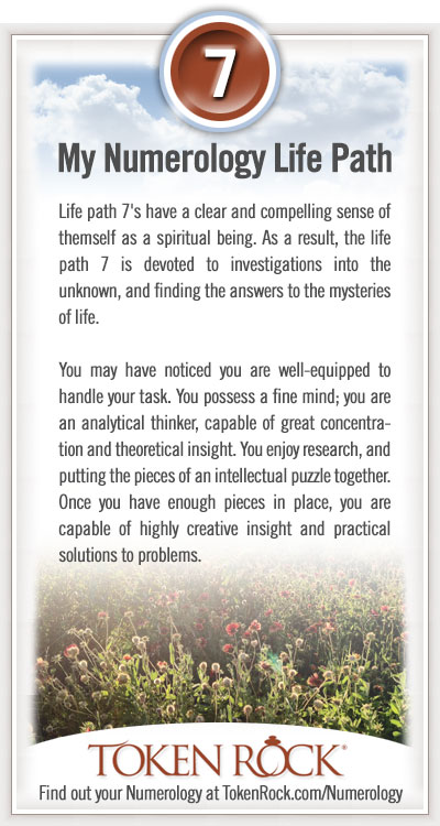 Life Path 7 | Numerology at TokenRock