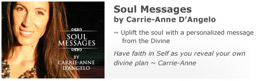 Carrie-Anne -Soul Messages