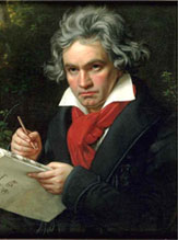 Beethoven Composing