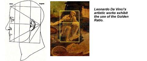 Da Vinci Golden Ratio