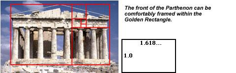 Golden Ratio Parthenon