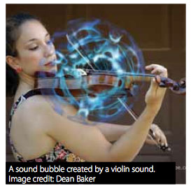 Cymatics Violin