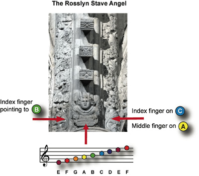 Rosslyn Stave Angel
