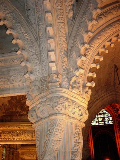 Rosslyn Chapel Pillar